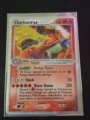 Pokémon FireRed & LeafGreen Charizard ex 105/112 Rare Holo NM/Mint