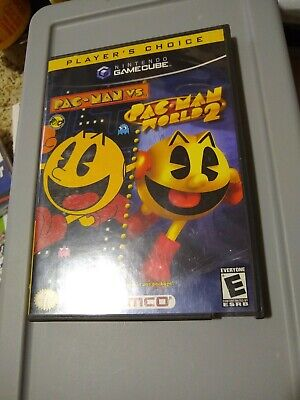 Pac-Man vs./Pac-Man World 2 (Nintendo GameCube, 2003) all excellent condition