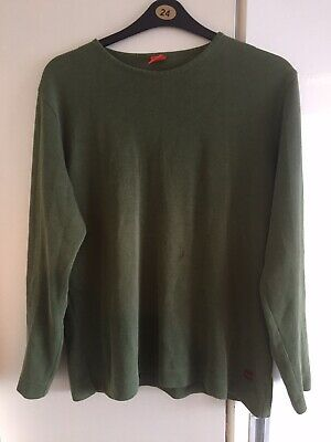 Men's Hugo Boss Jumper Sweater Size Medium 80s 90s Casuals Orange Tag Rare