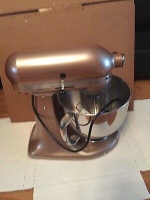 KitchenAid Toffee Delight Artisan 5-Quart Tilt-Head Stand Mixer KSM150GBQTZ New