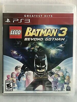 LEGO Batman 3: Beyond Gotham (PS3, 2014) Complete