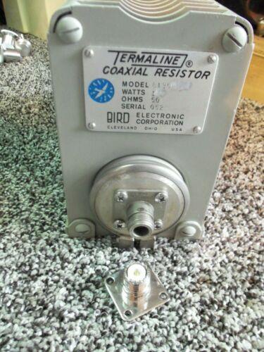 Bird 43 8135 Thruline Wattmeter 150W Termaline Dummy Load Resistor