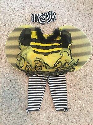 Baby Girl Size 9 Month Bumble Bee Halloween Costume - Baby Girl Bee Costume