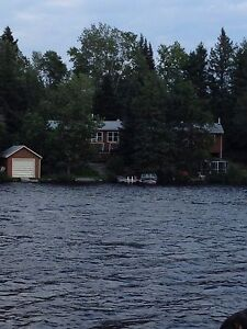Lakefront cabin for rent- Ingolf Ont.