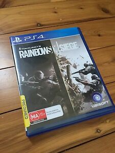 Tom Clancy's rainbow six siege - Ps4 Game Playstation 4 Bar Beach Newcastle Area Preview