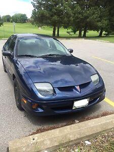 2001 Blue Pontiac SunFire