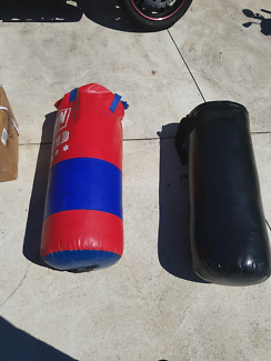 2 boxing bags in good condition