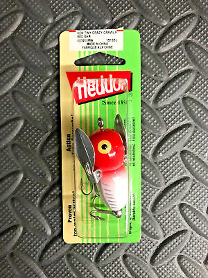 Heddon Tiny Crazy Crawler X0320SIBRH Japan Special Color Mint!!
