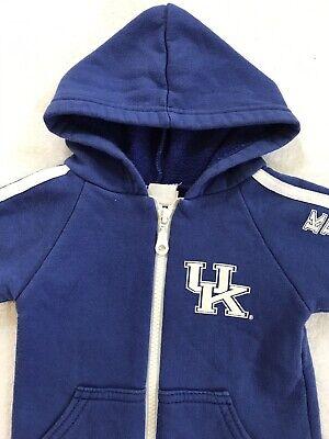 UK KENTUCKY WILDCATS Infant Baby Full Zip Hoodie Jacket Boy Girl Sz 6-9 Months
