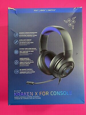 Razer Kraken X for Console Gaming Headset PS4/XBOX/SWITCH - Open Box