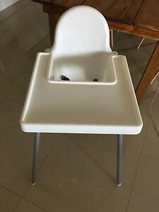 Ikea high chair with tray Blackwood Mitcham Area Preview