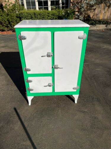 Antique Icebox Refrigerator
