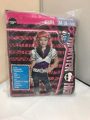 New Girls Monster High OPERETTA Costume Dress up Size Med 8-10](Operetta Costume)