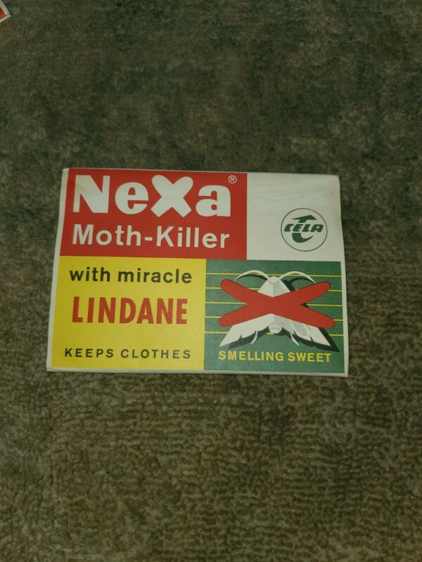 Vintage Cela Nexa Moth Killer Made In Germany
