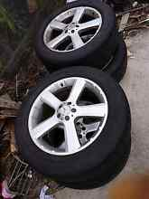 Mercedes Benz GL ML Mag wheels rims and tyres 275 50 R20 Wiley Park Canterbury Area Preview