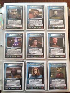 Star Trek TNG cards.