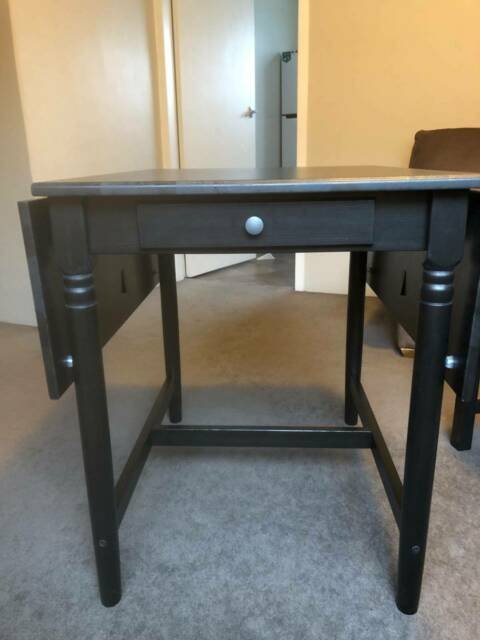 Brown Ikea Ingatorp Extendable Four Seater Table Dining Tables Gumtree Australia Yarra Area Burnley 1258809461