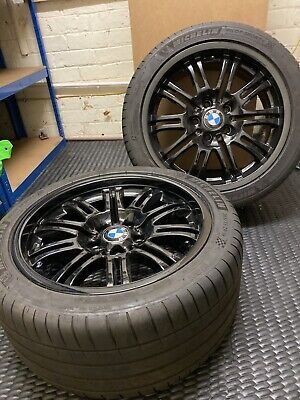 """18"""" BMW Alloys (Staggered, 8Jx18 EH2 & 9Jx18 EH2) & Michelin Pilot Sport 4 Tyres"""