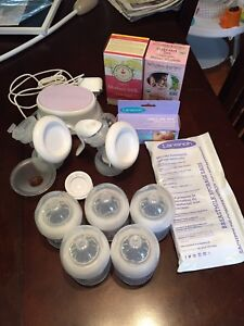 Philips Breast pump + extras