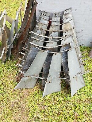 6 Foot X 702 Aermotor Windmill Sail Fan 3 Blade Sections Vintage