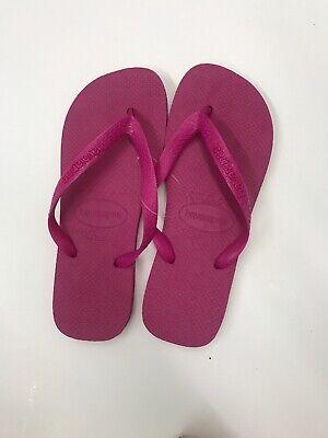 Havaianas TOP Womens Flip Flops RASPBERRY PINK Pick Size 35/36 37/38 39/40 41/42