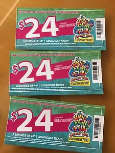 Calaway Park 2017 Complete admission tickets