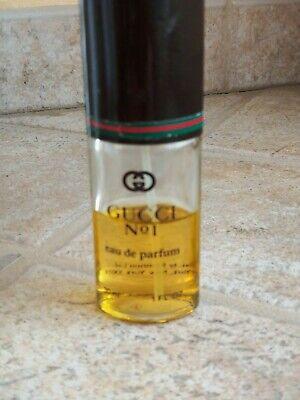 Gucci No. 1 eau de parfum 30ml / 1 oz vintage approx 60% full