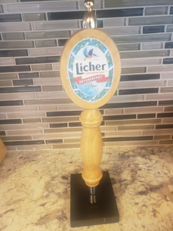 Licher Oktoberfest Beer Tap Handle Kegerator Germany