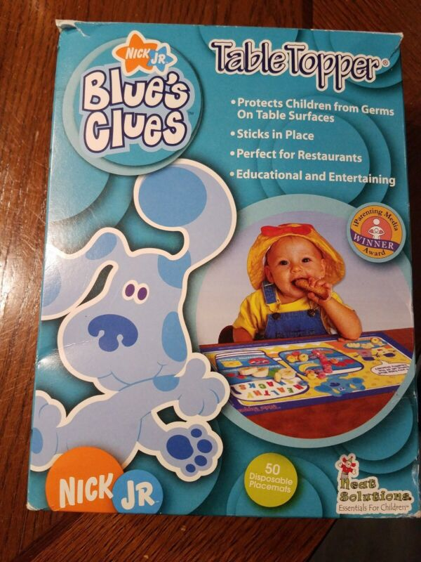 Blues Clues Table Toppers 27, Elmo Table Toppers 6
