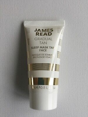 James Read Gradual Tan Sleep Mask Tan Face Subtle Golden Glow Overnight 25ml NEW