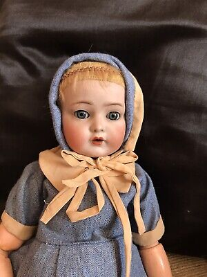 """Antique Simon and Halbig ,K & R 117n ,16"""" Mein Liebling Doll"""