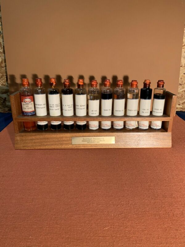 VINTAGE Bayway Products Humble Oil Refinery Bottles