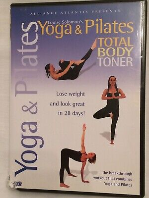 """Yoga & Pilates Total Body Toner""  with  LOUISE SOLOMON - DVD for sale  Shipping to India"