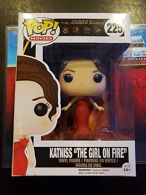 Katniss On Fire (Funko Pop! #225 Katniss
