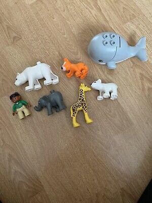 lego duplo zoo animals