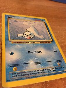 OLD SEEL RARE CARD!! 1ST EDITION!