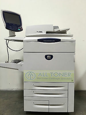 Xerox Docucolor 260 Digital Press Production Printer Copier Scanner Fiery 75ppm