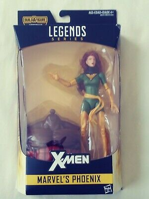 Marvel Legends Series X-Men Marvel's Phoenix  Juggernaut Build a Figure BAF New