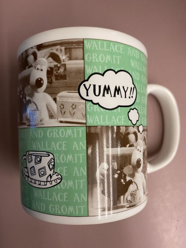 Staffordshire Wallace and Gromit Yummy! Mug