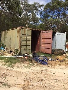 Shipping containers- 20 foot Warriewood Pittwater Area Preview