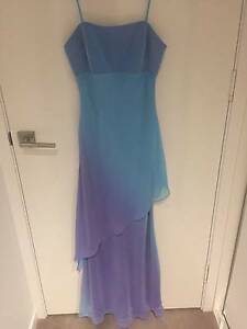 Bridesmaid / Formal Dress – Blue and Purple Kangaroo Point Brisbane South East Preview