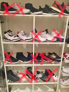 Air Jordan's size 12-13 + adidas, Nike basketball etc.  Og all