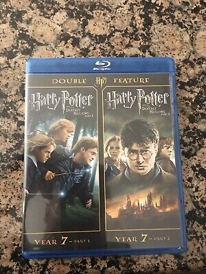 Harry Potter and the Deathly Hallows: Part 1 3D/Part 2 3D (Blu-ray (Harry Potter Deathly Hallows Part 1 3d)