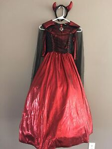 Girl's Devil Witch/Queen Costume