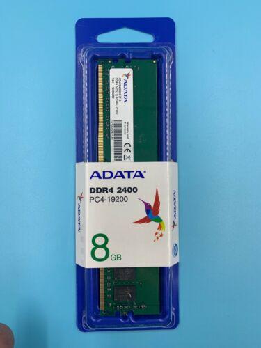 NEW ADATA 8GB DDR4 2400 MHZ PC4-19200  AD4U240038G17-S 288 P