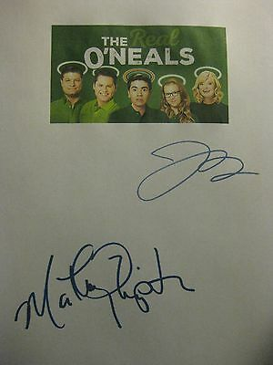 The Real O'Neals Signed TV Script Martha Plimpton Jay R. Ferguson reprint comedy