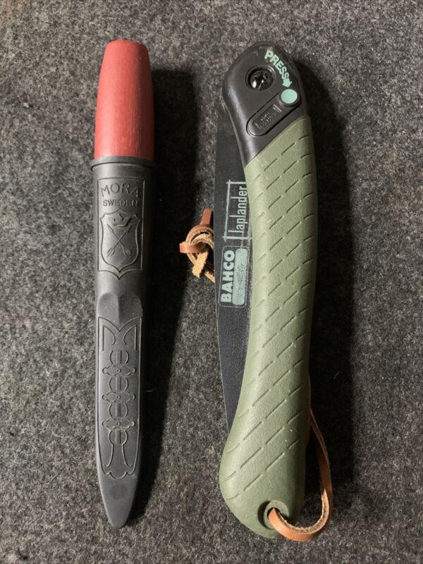 Mora Claasic No. 1 and Bacho Laplander, Budget Bushcraft Kit