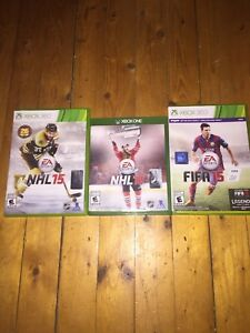 3 Xbox one/360 games for sale
