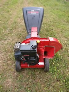 MTD CS 463 Petrol Garden Wood Shredder / Chipper 5.5 Hp engine