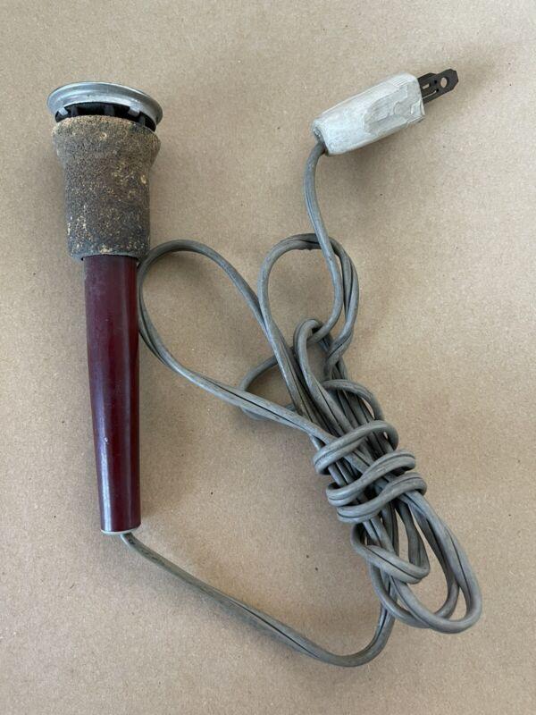 Vintage UNGAR Electric Soldering Iron #4035 With Porcelain Socket
